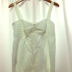 Cute Strappy Cotton Top From Ann Taylor